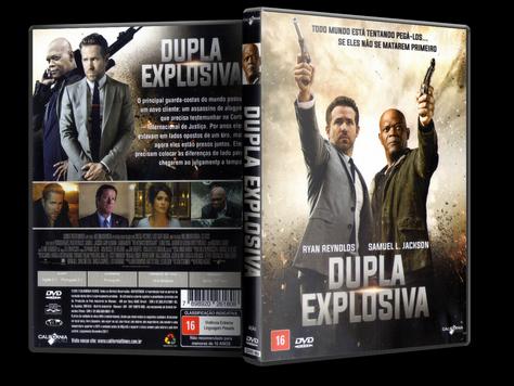 Capa DVD Dupla Explosiva