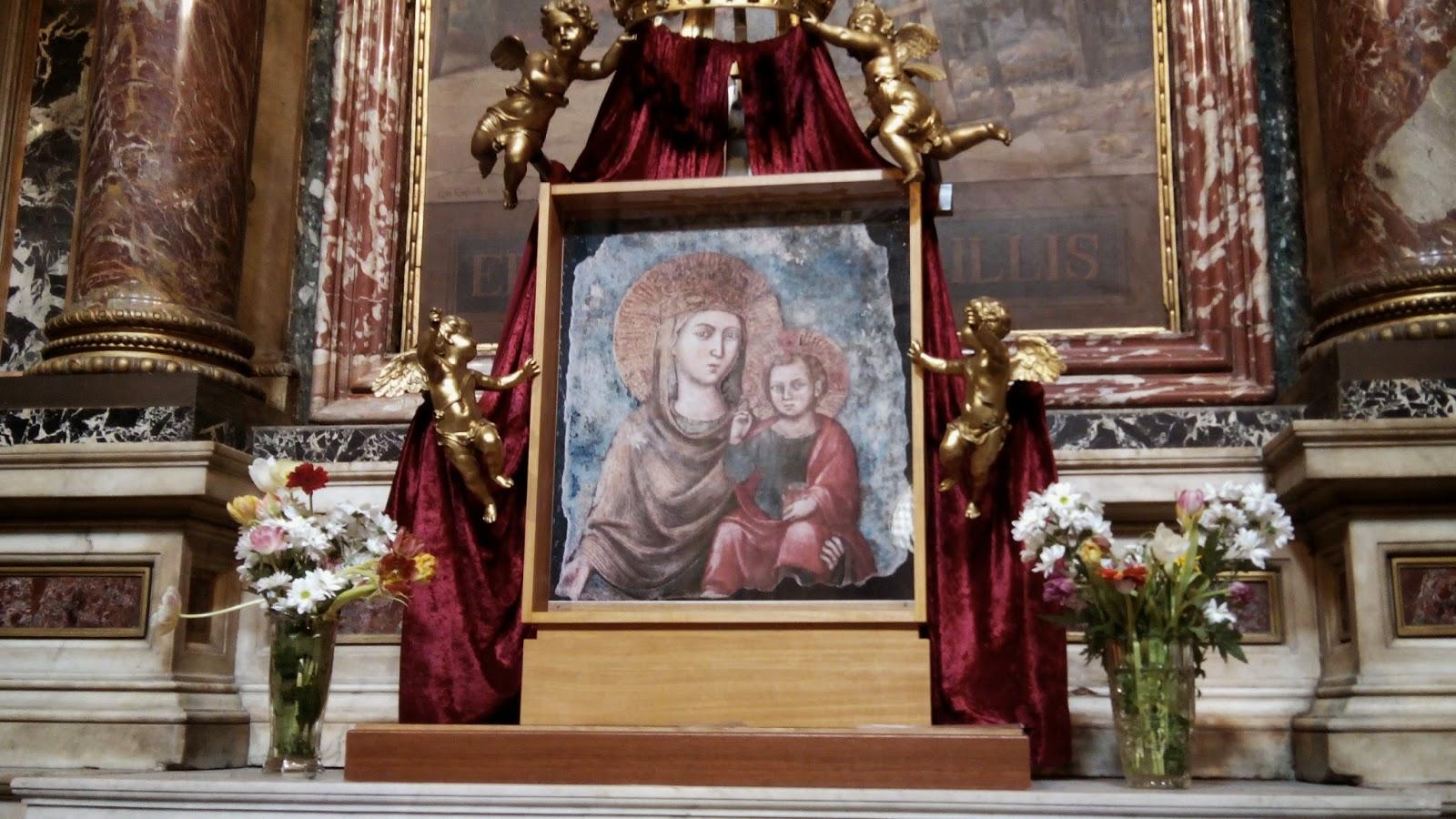 Afresco de SAnta Maria della Strada