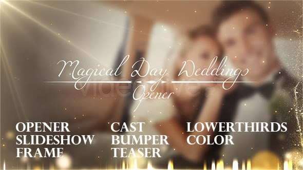 VideoHive Weddings Package