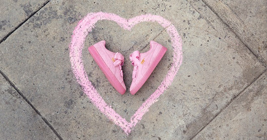 PUMA SUEDE HEART vs PUMA BASKET HEART