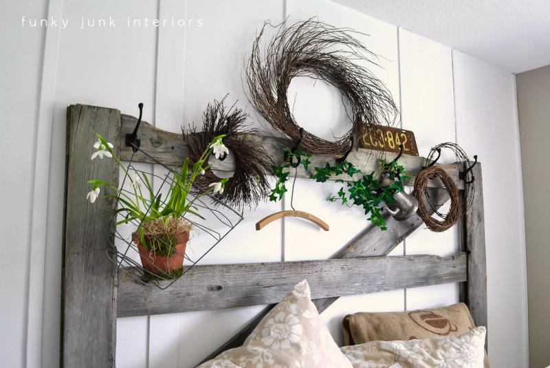 horsegate headboard \u2026 & SNS 142 - Unique headboards for your bedroom - Funky Junk ...