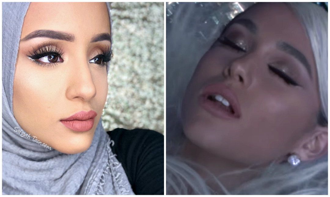 Safiyah Tasneem Ff Ariana Grande No Tears Left To Cry Makeup Look