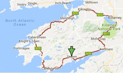Anillo De Kerry Mapa.Let S Go To Travel Ring Of Kerry Killarney La Vecina De