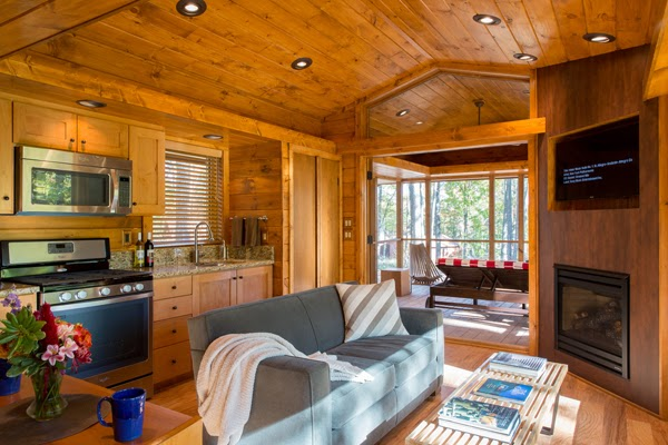 Now, ESCAPE is part of the tiny house movement. This movement, which is growing in popularity, has focuses on living with a smaller financial, environmental and physical footprint.