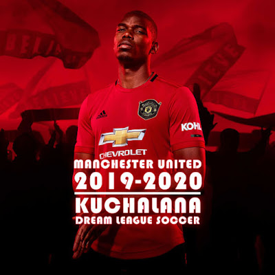 check out a29d4 23ad3 Manchester United 2019/2020 Kit - Dream League Soccer Kits ...