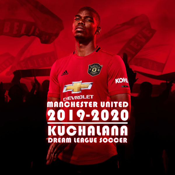 Manchester United 2019 2020 Kit Dream League Soccer Kits Kuchalana
