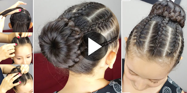 Learn - How To Create Braided Headband Hairstyle, See Tutorial