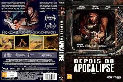 Filme Depois do Apocalipse (Hostile) DVD Capa