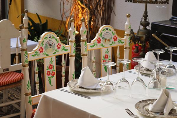 typical restaurant seville spain flamenco