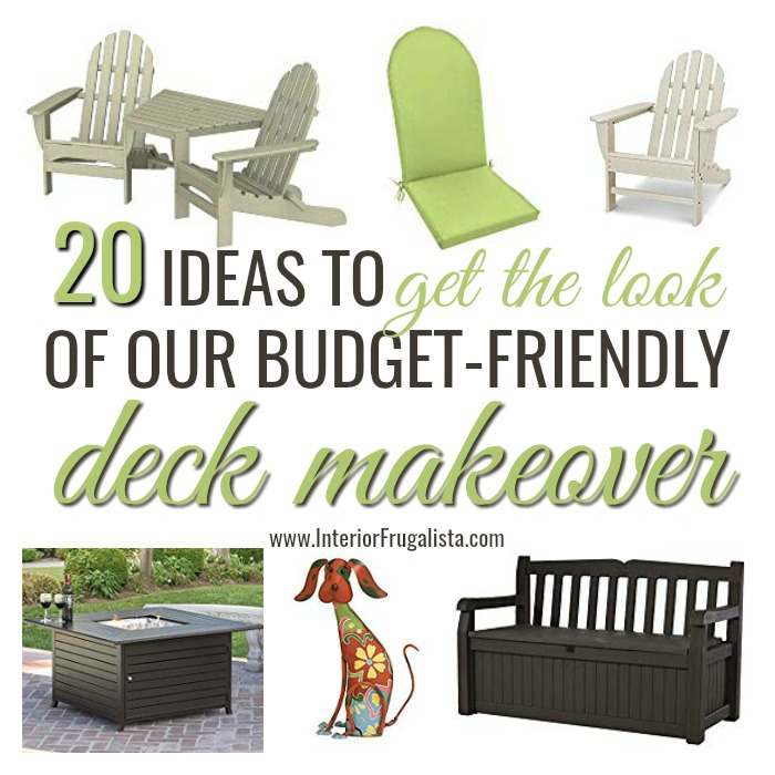 20 Get The Look Deck Makeover Ideas