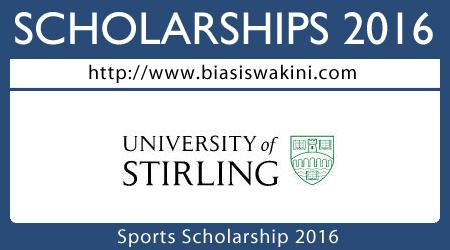 Sports Scholarships 2016