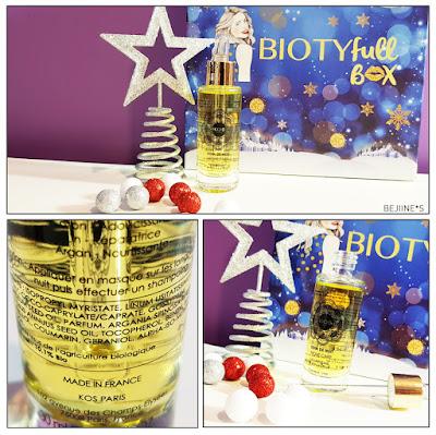 "BIOTYfull Box ""La Festive"" kos soin nuit"