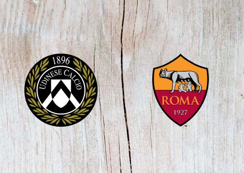 Udinese vs Roma - Highlights 23 Nov 2018
