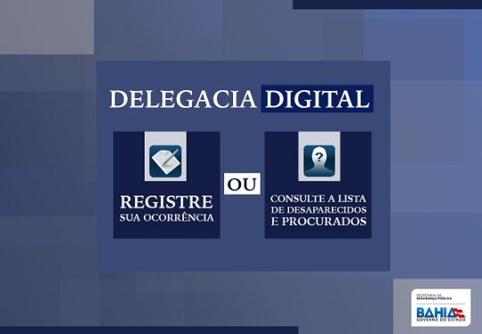 Registros de furtos podem ser feitos na Delegacia Digital