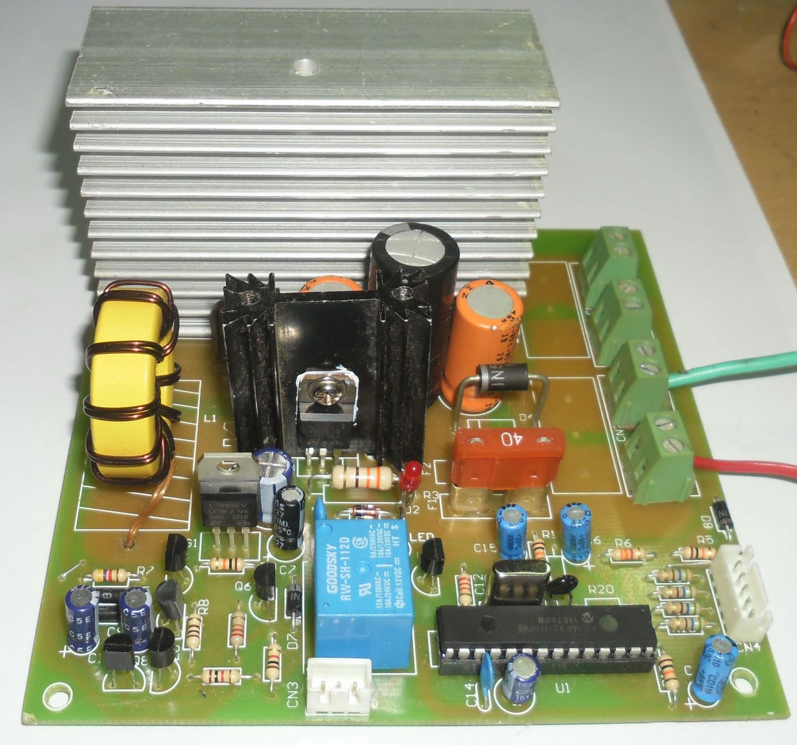 Temperature Controlled Pwm Boost Converter From 5v Supply Circuit Diagram
