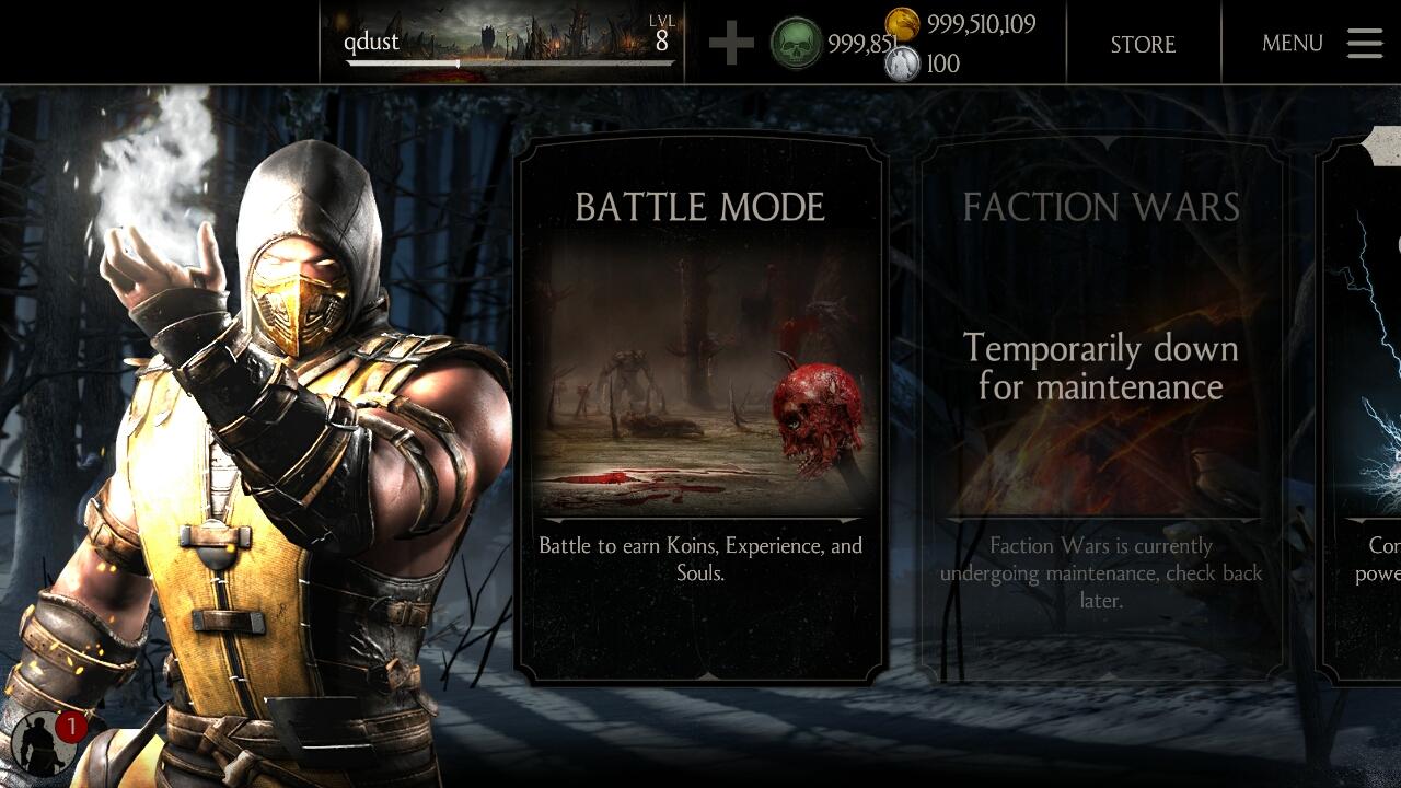 Mortal Kombat X Apk Mod Free Download
