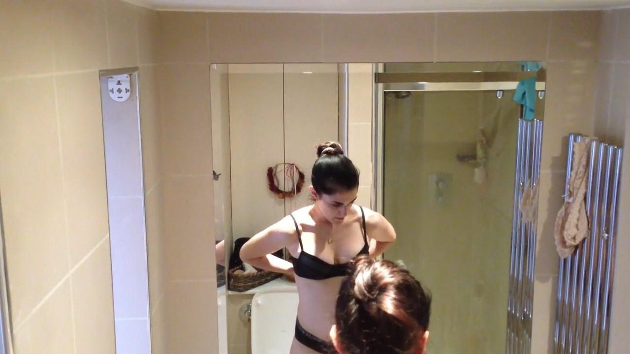 Real hidden shower cam warning high volume sorry lol 5