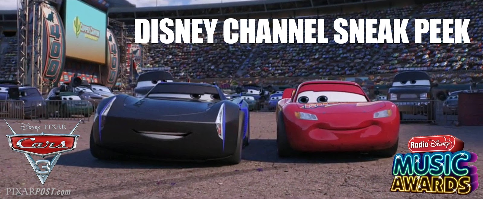 Cars 3\' Disney Channel Sneak-Peek Trailer Airs During The Radio ...