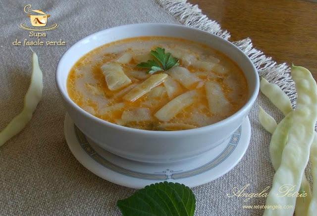 Reteta supa de fasole verde, supa de pastai