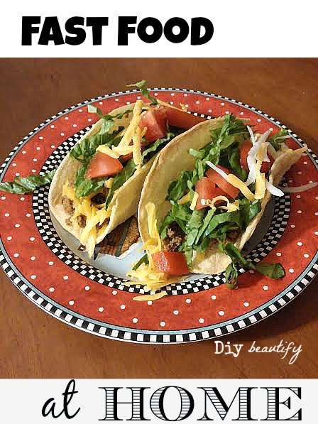 how to make fast food tacos at home