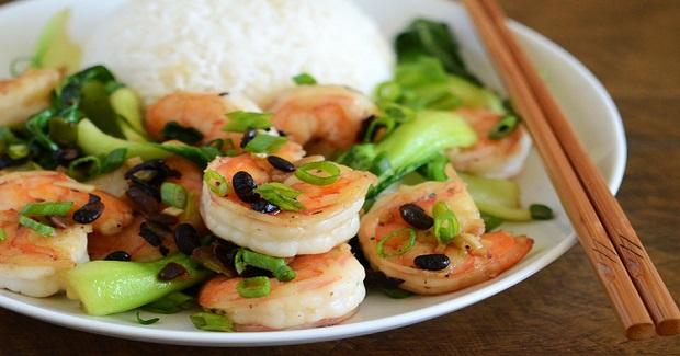 Chinese Shrimp With Black Bean Sauce Recipe
