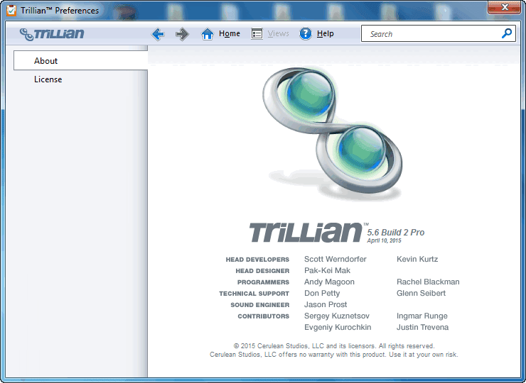 Get Trillian Crack