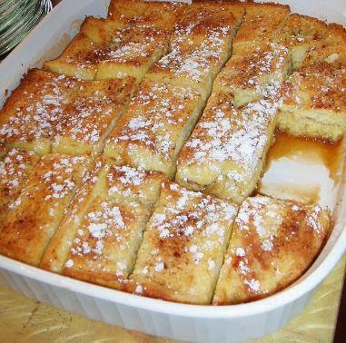 Cooking Pinterest: French Toast Bake Recipe