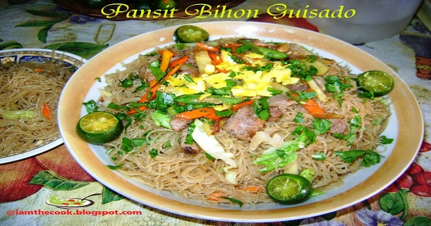 Special Pancit Bihon Guisado (Sauteed Rice Noodle Sticks) Recipe