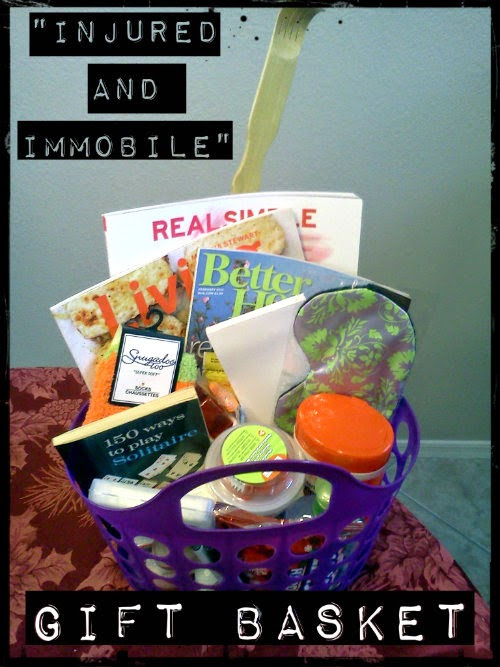 The 'Injured and Immobile' Gift Basket