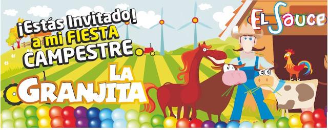 Invitacion digital bombas colores paquetes fiesta cumpleaños Bogota