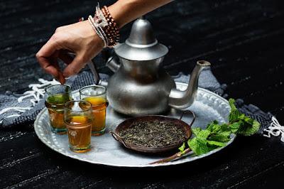 Teh mint Khas Maroko