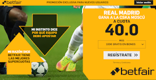 betfair supercuota Real Madrid gana CSKA 12-12-2018