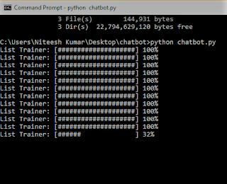 chatbot in python