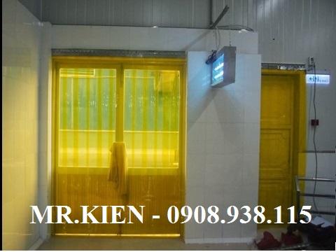Rèm nhựa PVC chống côn trùng Nhà Máy Ếch Vàng - Gorden Frog