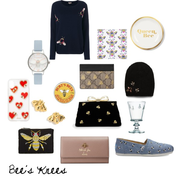 Bees motif accessories