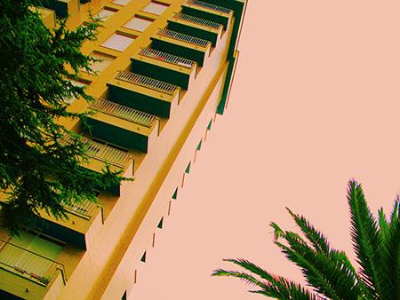 Torre de apartamentos playeros. Rodrigo L. Alonso