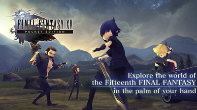 FINAL FANTASY XV POCKET EDITION Mod Apk + Data v1.0.4.309 Unlocked Chapters Terbaru