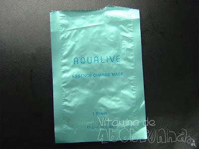 Aqualive Essence Charge Marsk Kosé resenha review