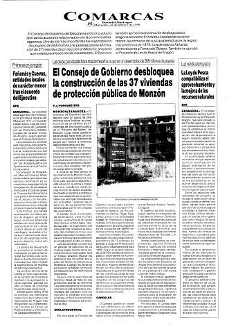 Fañanás y Cuevas, entidades locales de carácter menor tras el acuerdo del Ejecutivo