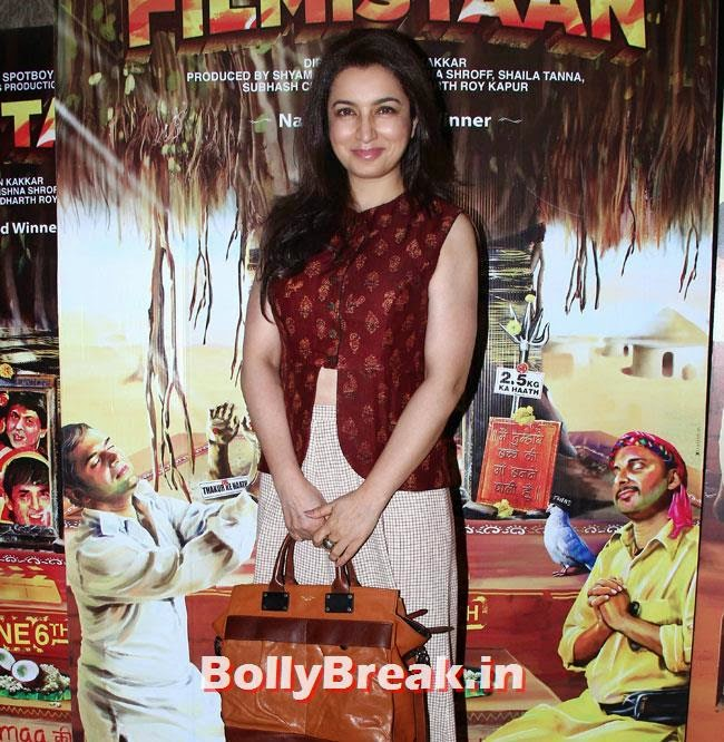 Tisca Chopra, Aditi Rao, Shilpa, Tisca at Filmistaan Movie Special Screening at Lightbox