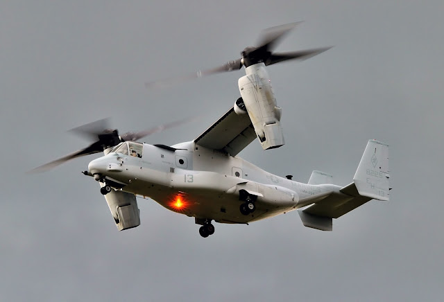 Twin-Rotor Helicopter Bell Boeing V-22 Osprey