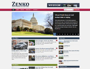 premium themes free download: Free download Zenko Wp-zoom wordpress