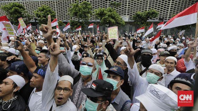 Citaten Politiek Luar Negeri : Simpatisan 02 di surabaya kemas aksi 22 mei jadi tour jihad