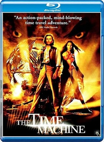 The Time Machine 2002 Dual Audio Hindi 720p BluRay 650mb