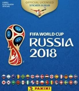 Lançamento Álbum de Figurinhas Copa do Mundo Rússia 2018