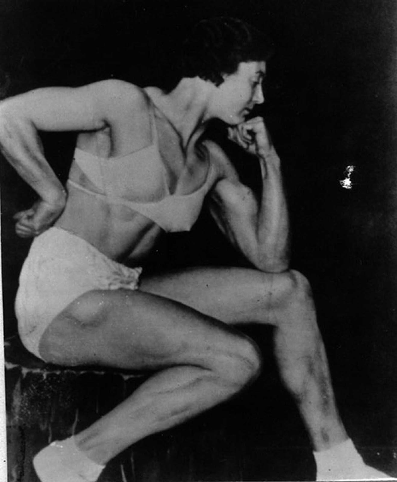 Otra foto del impresionante físico de Ivy Russel.