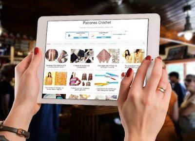 Bufandas-Chals tejidos con instrucciones. Revista japonesa