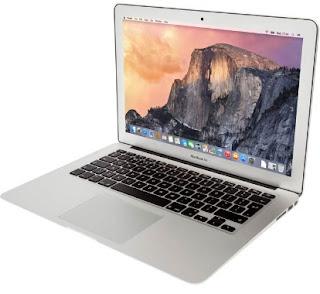 informasi harga laptop apple  termurah 2017 Macbook Air MMGF2