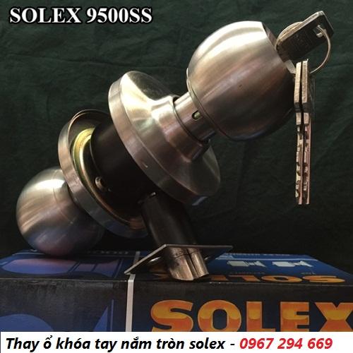 Chuyên sửa khóa tay nắm tròn solex tại nhà giá rẻ