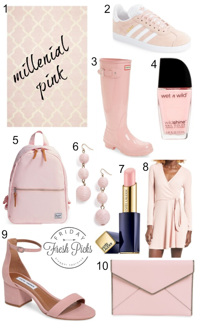 Trendspotting millenial pink for Millenial pink gifts